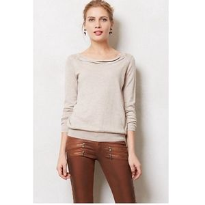 Sparrow Anthropologie Aida Cowlneck Sweater